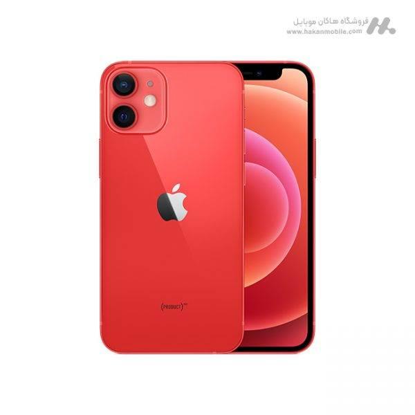 گوشی آیفون 12 مینی با ظرفیت 128 گیگابایت قرمز