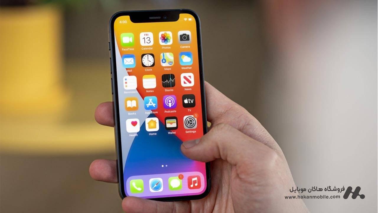 صفحه نمایش گوشی آیفون 12 مینی