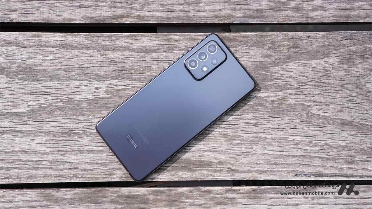 گوشی سامسونگ گلکسی ای 52 نسخه 5G ظرفیت 256 گیگابایت