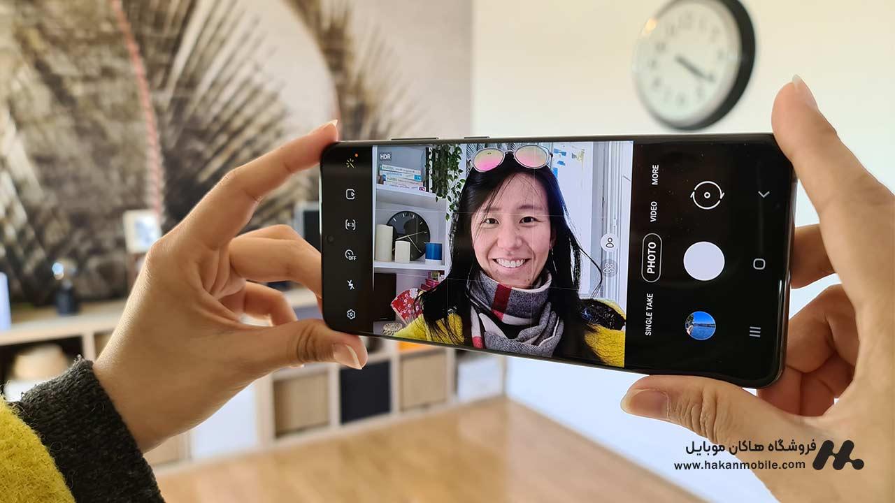 دوربین سلفی Samsung Galaxy S20 Ultra 5G
