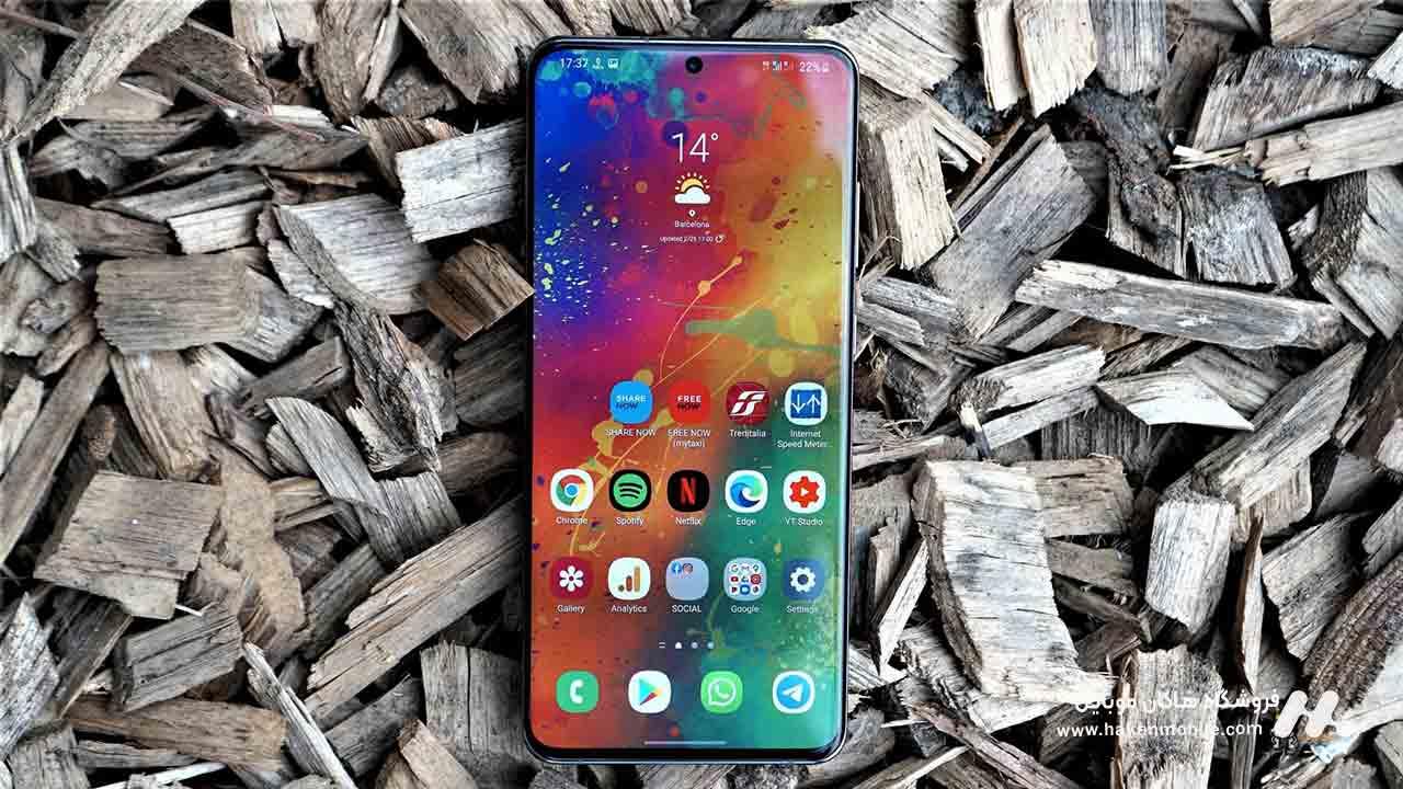 سیستم عامل و رابط کاربری Samsung Galaxy S20 Ultra 5G