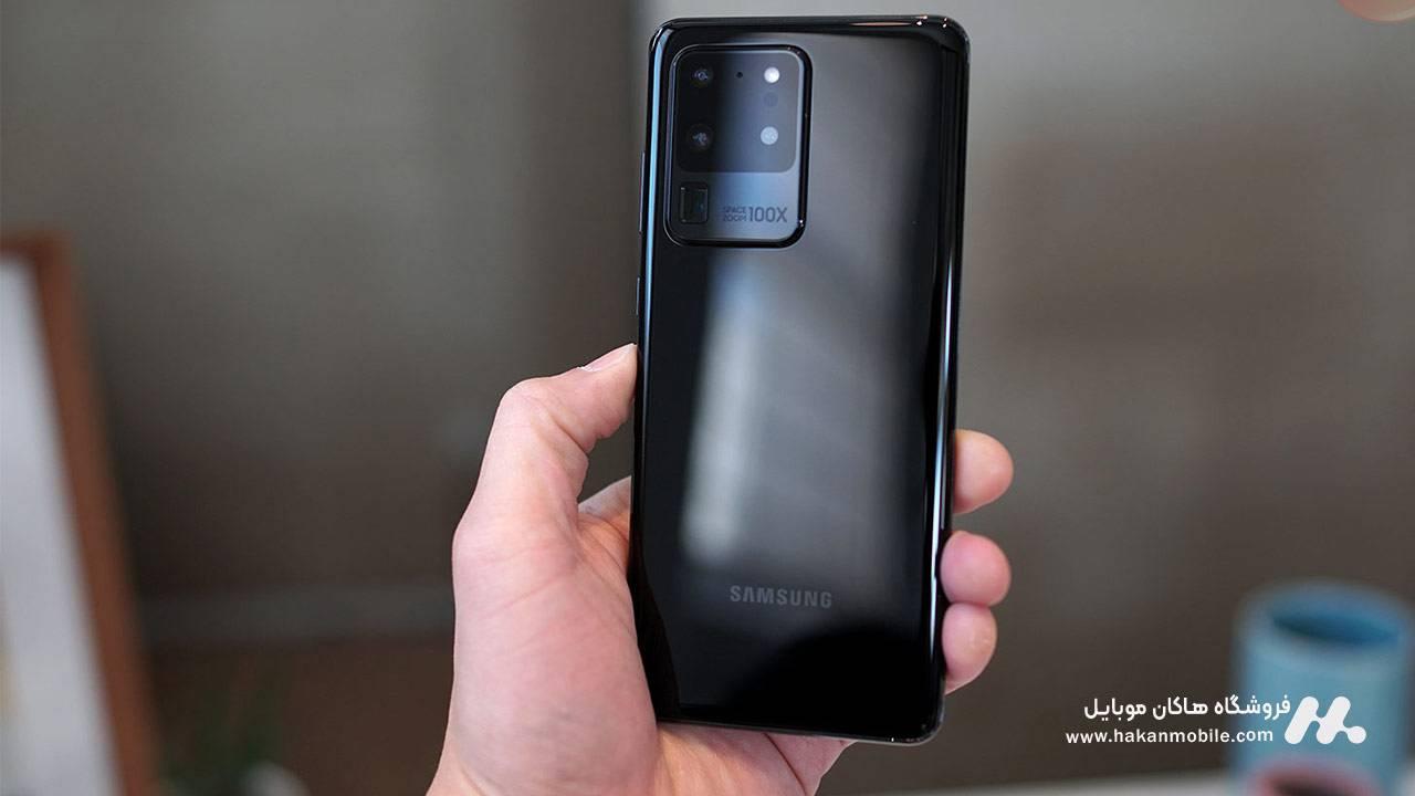 طراحی و کیفیت ساخت گوشی Samsung Galaxy S20 Ultra 5G