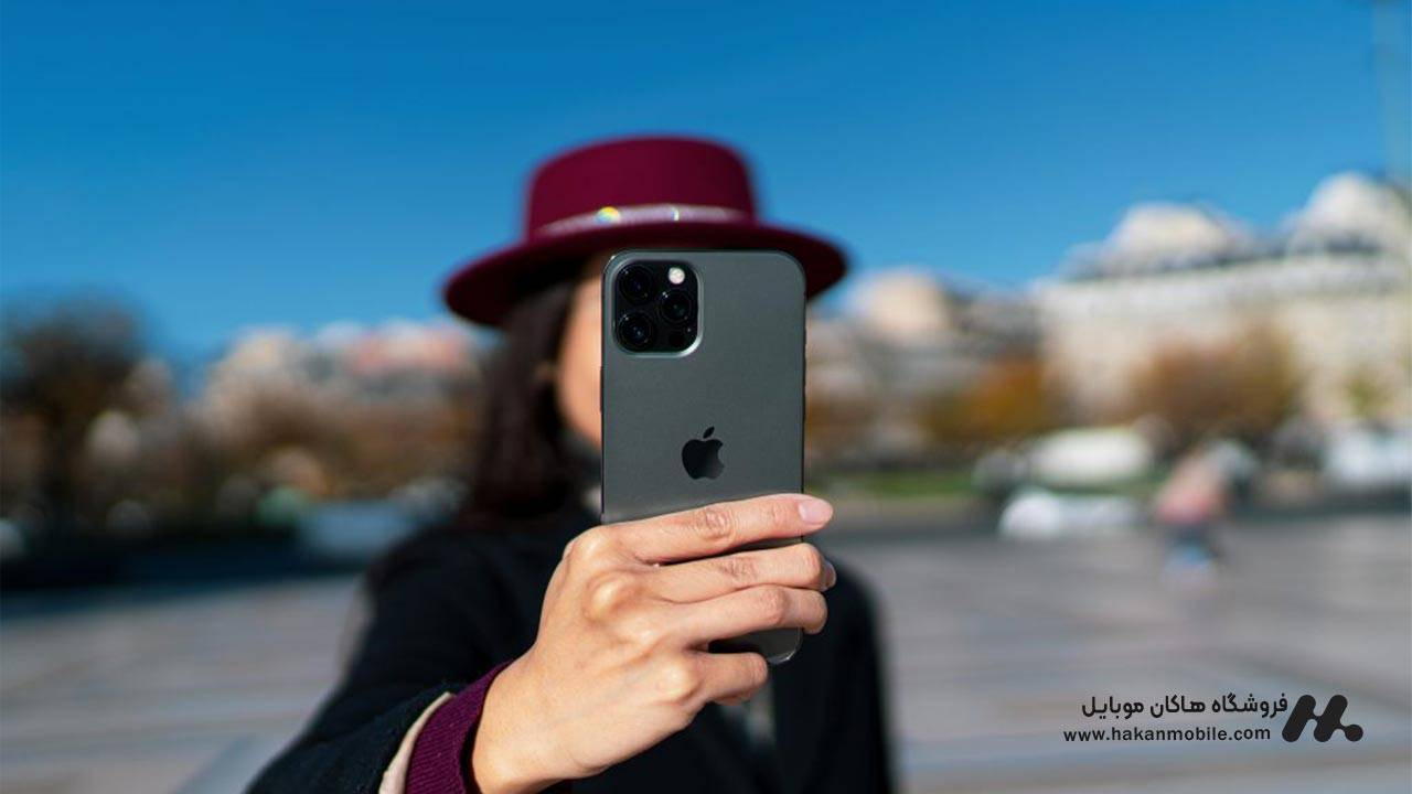 دوربین سلفی گوشی آیفون 12 پرو مکس اپل