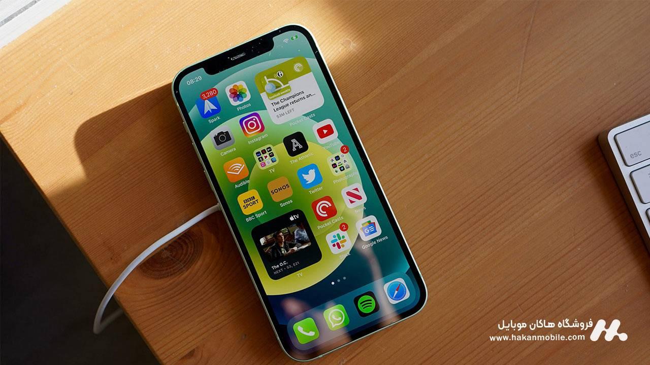 سیستم عامل و رابط کاربری iPhone 12 Pro