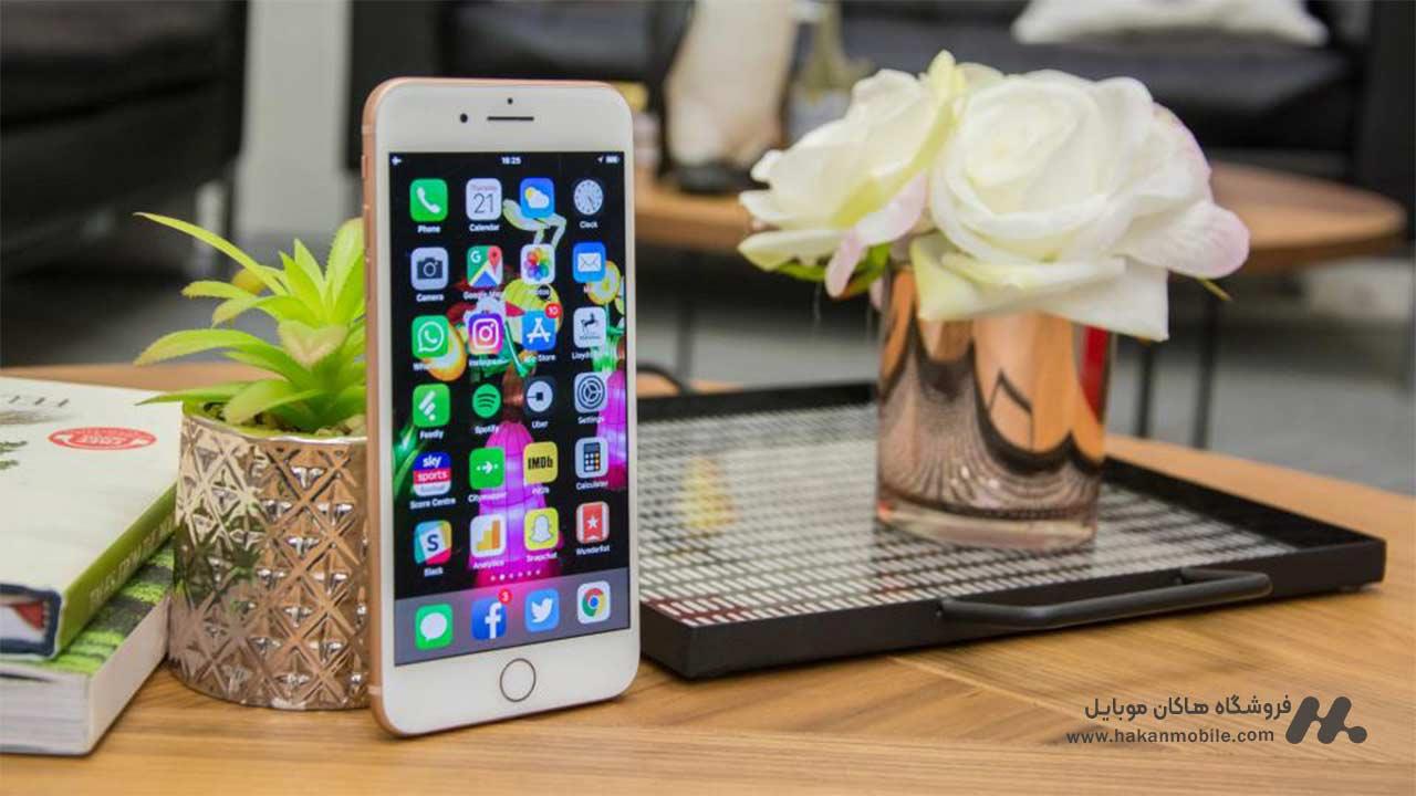 صفحه نمایش iphone 8 plus ظرفیت 256 گیگابایت