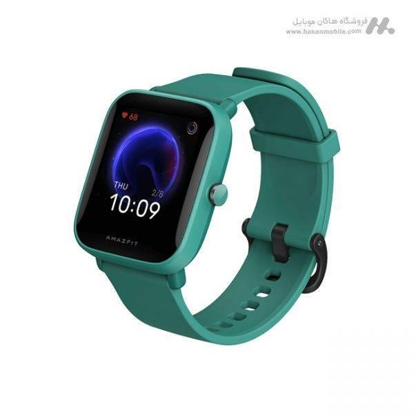 ساعت هوشمند شیائومی مدل Amazfit Bip U سبز