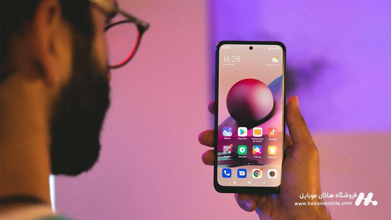 صفحه نمایش گوشی Xiaomi Redmi Note 10s