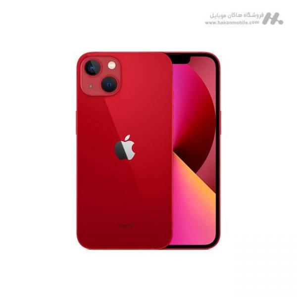 گوشی آیفون 13 ظرفیت 256 گیگابایت قرمز