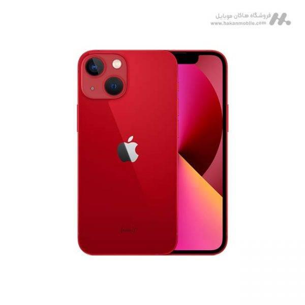 گوشی آیفون 13 مینی ظرفیت 128 گیگابایت قرمز